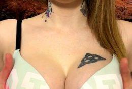Karuna Satori Fucking Her Tits With Dildo ASMR Video