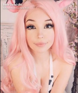 Belle Delphine Sexy Cow Girl