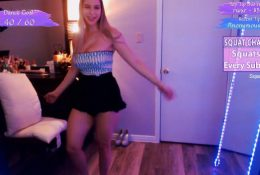 Twitch Streamer Pink Sparkles Lewd Dance Video