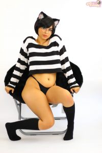 Beefarmer Black Kitty Cosplay