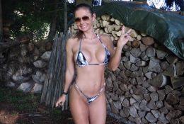 Fitandlingerie onlyfans Amazonwoman Patreon Micro Bikini Video