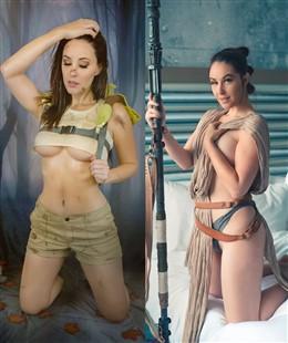 Meg Turney Star Wars Boudoir Lewds