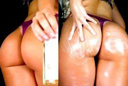 ASMR Network Big Booty Oil Massage Video