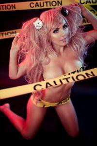 Jessica Nigri Caution Cosplay