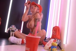 Liz Katz Pizza Planet Topless Video