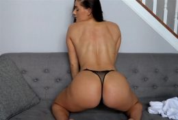 Florina Fitness Black Thong Booty Show