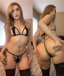 Vamplette 0nlyfans Sexy Black Lingerie Photos
