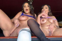 Alexas Morgan & Alva Jay Onlyfans Lesbian Sex Video