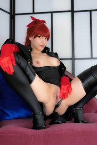 Tenleid Kasumi Nude Cosplay