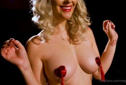 Meg Turney OnlyFans Red Pasties Leaked Video