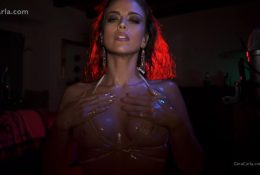 Gina Carla ASMR Oiled Up Boobies Video