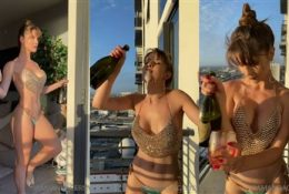 Amanda Cerny Leaked Onlyfans New year Celebration Nude Video