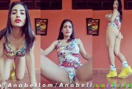Anabella Galeano Sexy Workout Nude Video
