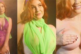 Meg Turney Nude Purple Lingerie Porn Video Leaked