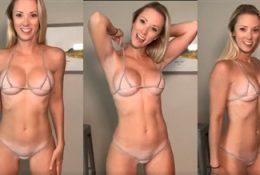 Vicky Stark Micro Naked Bikini Try On Nude Video