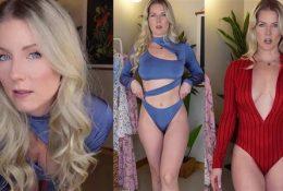 Kat Wonders Weekly Lingerie Haul Nude Video