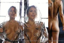 Brittney Palmer Nude Raincoat Video Leaked