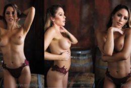 Brittney Palmer Topless Lingerie Tease Leaked Video