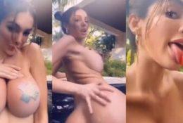 Lyna Perez Nude Pool Tease Leaked Video