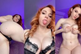 Amouranth Nude See Through Top Leaked Video