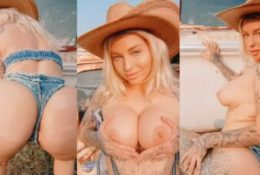 Vicky Aisha Nude Cowgirl Tease Leaked Video