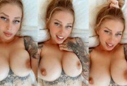 Vicky Aisha Topless Tease Leaked Video