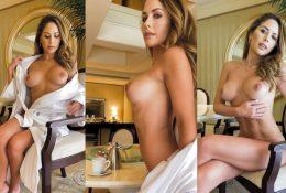 Brittney Palmer Nude Bathrope Strip Leaked Video